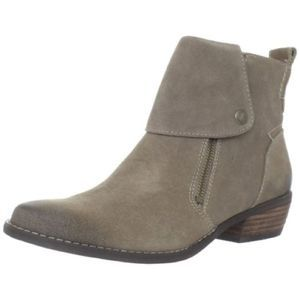 NINE WEST Vableaker Suede Leather Ankle Boots 8
